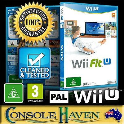 (Wii U Game) Wii Fit U (for Balance Board) (G) (Fitness & Health) PAL