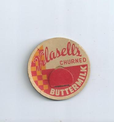 "'Klasell`s""   Montesano, Wash. milk bottle cap."