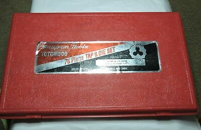 Snap-On Red Plastic Case For  TDTDM500 76 Piece Combination Tap & Die Set