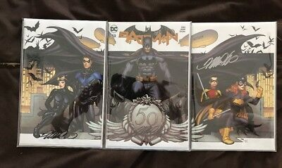Batman #50 (2018) Frank Cho Variant Cover Set of 3 [NM] Catwoman Wedding!