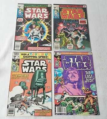 #60 Vintage Marvel Star Wars Issue #1 + #4, #40, #49