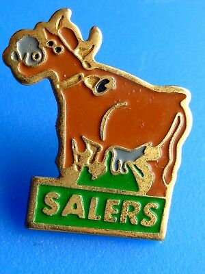 Pin's Animaux  Vache Salers