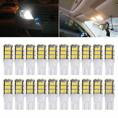20 Warm White T10/921/194 RV Trailer 42-SMD 12V Backup Reverse LED Lights Bulbs