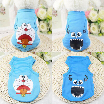 Small Pet Dog Clothes Fashion Costume Vest Puppy Cat T-Shirt Summer Apparel Cute
