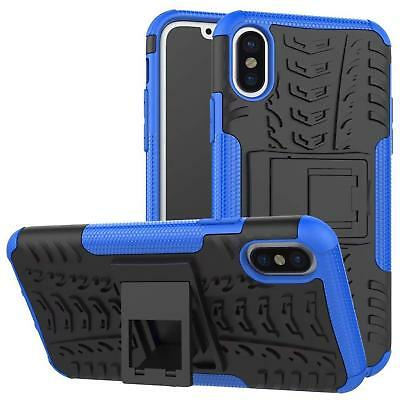 Apple Iphone Xs Funda Hibrido Panzer Funda Protectora Protector de Móvil Funda