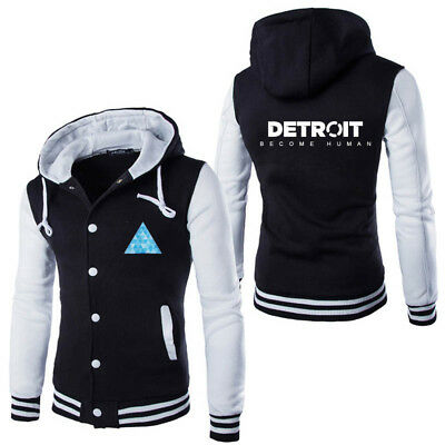 High Quality Design Stylish Detroit: Become Human Hoodie Mens Cosplay Hoodies Co