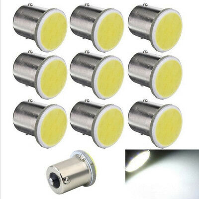 4x Cob P21W LED 12SMD 1156 BA15s 12v Bulb RV Trailer Parking Auto Led Car Lamp
