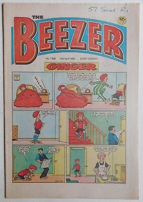 BEEZER Comic #1368 - 3rd April 1982