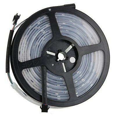 16.4Ft 12V Waterproof RGB 6803IC IP67 LED Strip Light Chasing Magic Dream Color