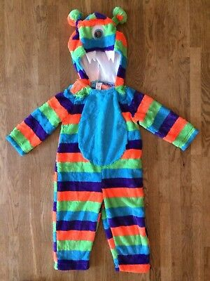 Size 1-2 Years Monster All In One Outfit 12-18 18-24 Months Halloween Costume