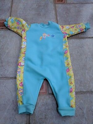 Splash About Baby Wetsuit - Warm In One Baby  Wetsuit 0-3 Months