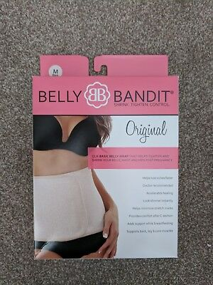 Belly Bandit Belly Wrap Medium Black