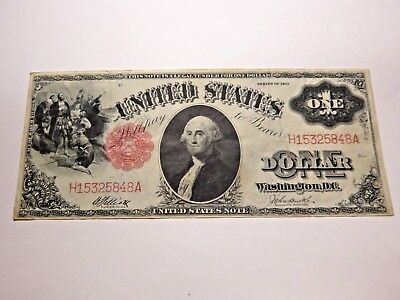 Large One Dollar Bill Note Series of 1917 United States Paper Currency EX FINE