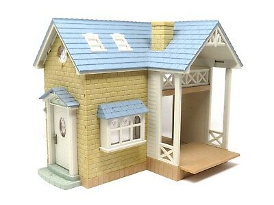 sylvanian families House / Home bluebell cottage / Riverside Lodge with Ladder