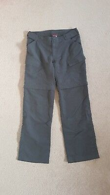 Northface Womens Hiking Zip-off Pants Size 8 New with tags