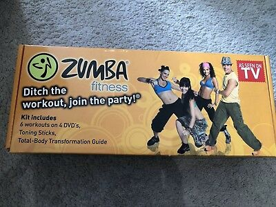 Zumba Fitness DVD's At Home Workout