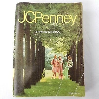 Vintage 1975 JCPenney Catalog Spring Summer  1140 Pages
