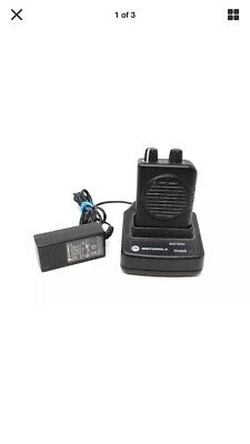 Motorola Minitor V (5) Single Channel VHF Stored Voice SV Pager - Fire Safety