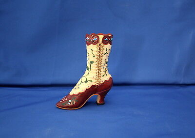 Just The Right Shoe Miniature Victorian Opera Boot By Raine