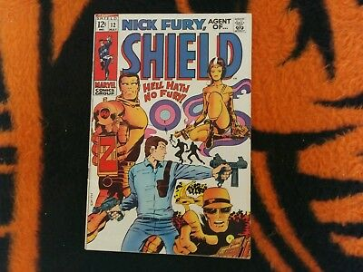 Nick Fury  : Agent Of Shield #12  May/1969 Fn+