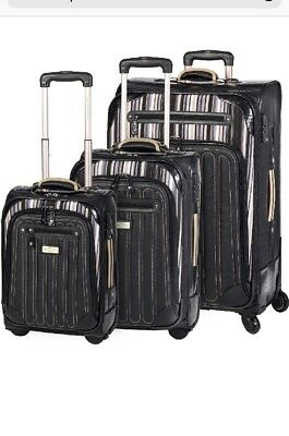 Sale!!Spencer & Rutherford BNWT 3 Piece Cobblestone Trolley Luggage Set RRP $869