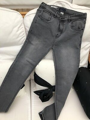 Boys NEXT Skinny Jeans Age 15 Grey Pre-owned