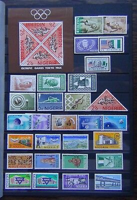 Nigeria 1964 Olympics Monuments 1965 Sun Year ITU Co-Op Year Republic 1966 YMCA