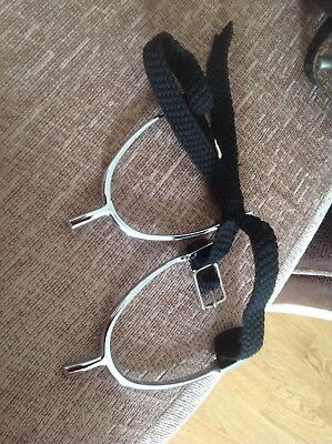 Ladies Spurs With Nylon Straps