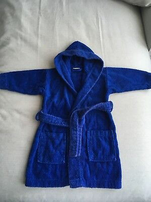 boys towelling robe 2-3 Years