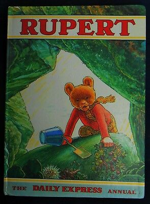 VINTAGE ORIGINAL 1971 RUPERT BEAR ANNUAL, UNSCRIBED/PRICE UNCLIPPED 43p