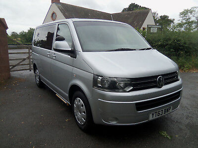 Vw Transporter T30 Auto, Passenger Up Front / Drive From Wheelchair Access Lift