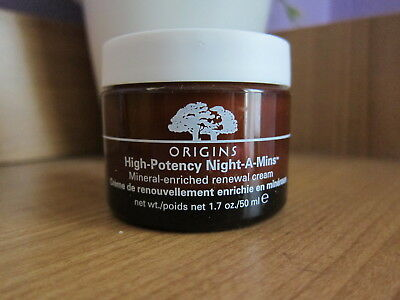 New Origins High Potency Night-A-Mins Mineral-Enriched Renewal Cream 1.7oz/50 ml
