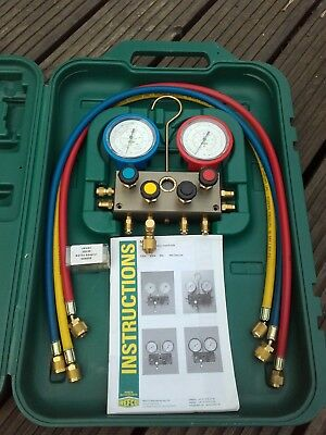 Refco 4 Way Manifold With hoses