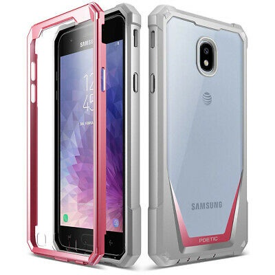 Poetic® Galaxy J7 2018 / J7 Star Case [Guardian] Built-in-Screen Protector Pink
