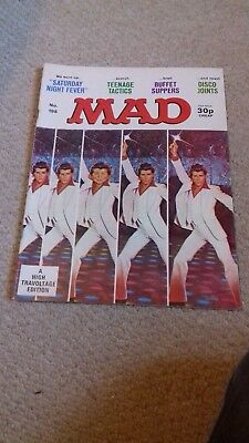 MAD magazine October 1978 Saturday Night Fever spoof
