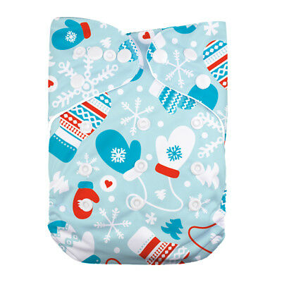 LilBit Infant Washable Reusable One Size Baby Cloth Diaper