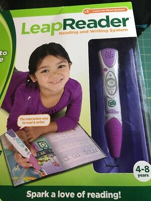 Leap Frog Leap Reader and Writing System NIP Green White Leap Reader Pen