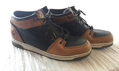 c78fd89c0f NWOB Gravis Size 11.5 Men s Royale Mid Chocolate Toffee Sneakers Casual  Skaters