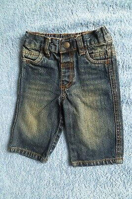 Baby clothes BOY 3-6m NEW! dark blue denim jeans/trousers unlined NEXT SEE SHOP!