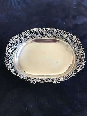 Sterling Silver Serving Tray Or Bowl 9 Inch
