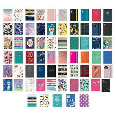 2019 Diary A7 Pocket Week To View Small Size Fashion Diary in Various Design