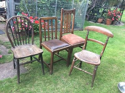 Four Random Vintage Chairs