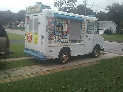 1976Chevy Vintage Ice Cream Truck For Sale in good condition