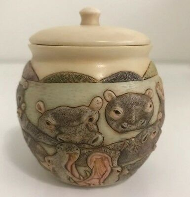 "Harmony Kingdom Jardinia Come Wallow Mini 3"" Vase Jar"