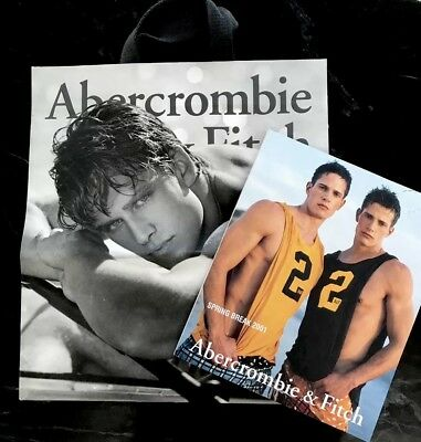 abercrombie and fitch 2001 Catalog ( The Twins)