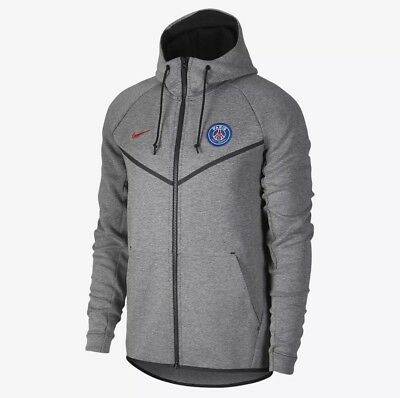Nike PSG Paris Saint Germain Tech Fleece Windrunner Men's Hoodie AA1932-095 XL