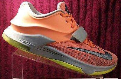 quality design fb81c f19d8 Nike Air Kevin Durant KD 7 VII 35000 DEGREES Orange Green 653996-840 Size 10