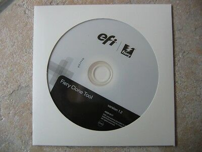 🌐EFI FIERY Clone Tool Version 1.2 DVD Software Neu🌐