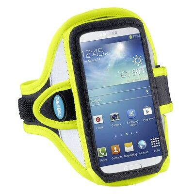 Tune Belt Sport Armband Reflective Yellow AB86RYfor Samsung, Apple, and more