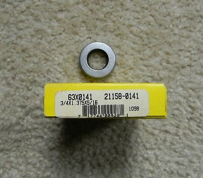 "One Garlock Klozure 63X0141 21158-0141 Oil Seal .75"" X 1.375"" X .3125"" Usa"